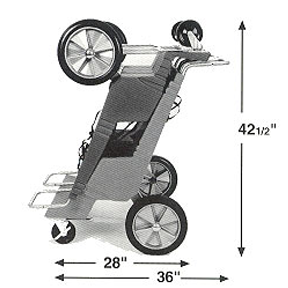 MVMI Mahoning Valley Manufacturing Inc. The Imperial D2200 Commercial Stroller